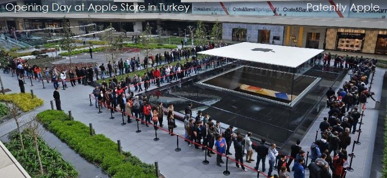 1. Cover Opening Day of Apple Store - Instanbul Turkey