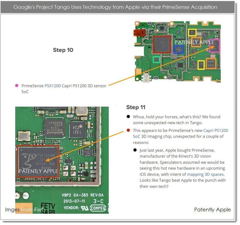 5AAAAABF PrimeSense Technology Found in Google's Project Tango