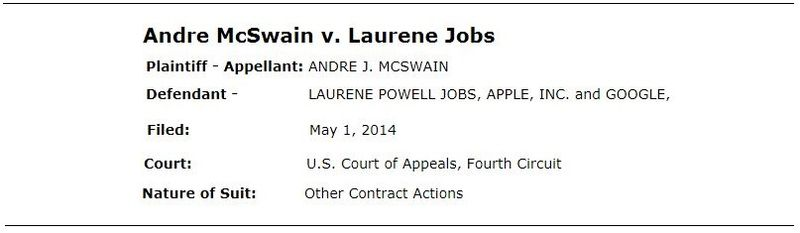1a Cover - McSwain vs Laurene Jobs