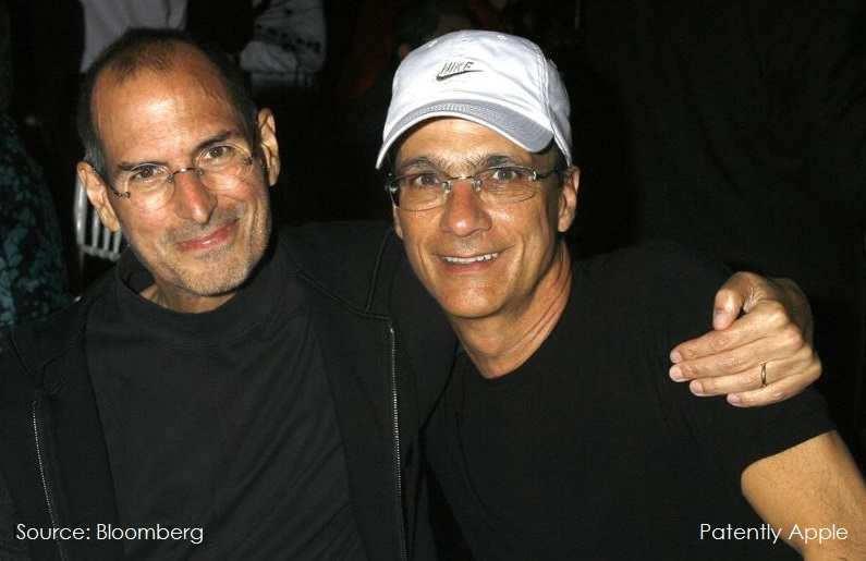 2AF steve Jobs and Jimmy Iovine in 2008