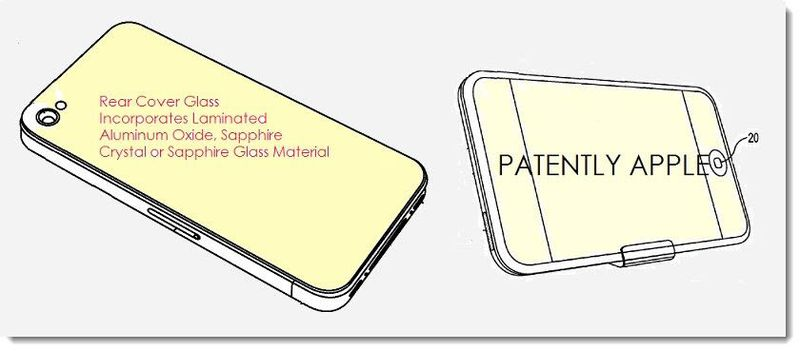 2AF. Apple patent filing May 22, 2014 - Sapphire glass cover