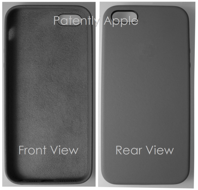 8AF - China Grants Apple a design patent for an iDevice - Front & Rear Views