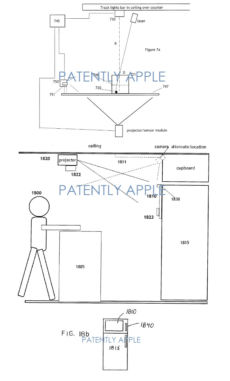 3AF -  Apple patent figures concerning the smart home