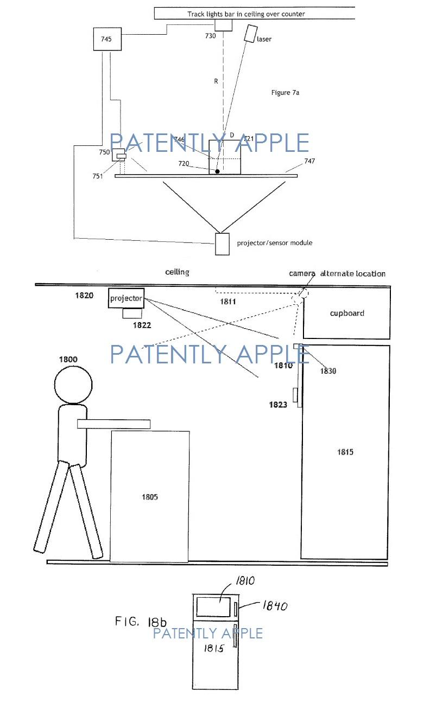 3AF -  Apple patent figures concerning the smart home