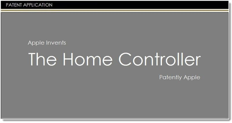 1AF - Apple invents the Home Controller
