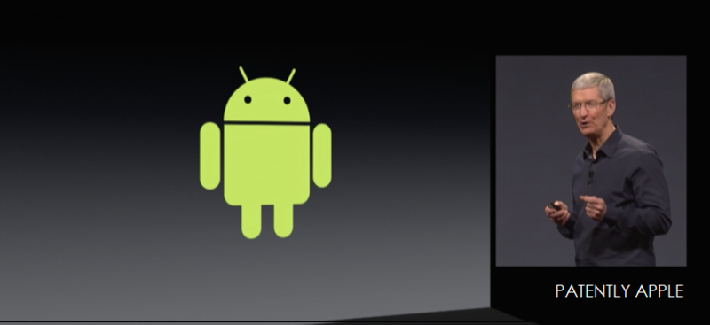 1AF - COVER GRAPHIC - TIM COOK POKES ANDROID IN THE EYE