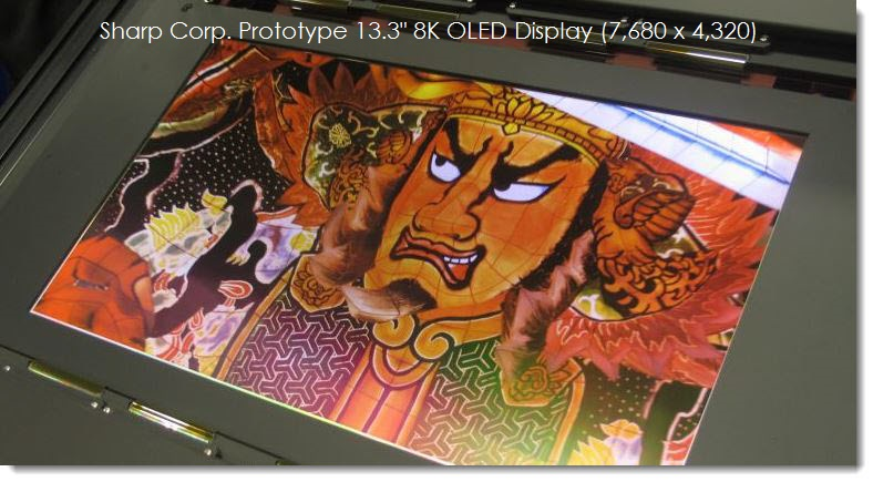 1A 8K DISPLAY OLED