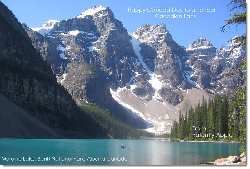 1AF Happy Canaday Day from Patently Apple 2014