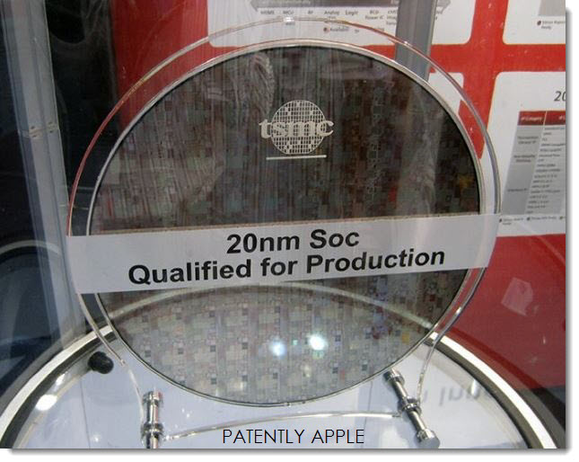 2AF TSMC 20NM SOC FOR APPLE A8