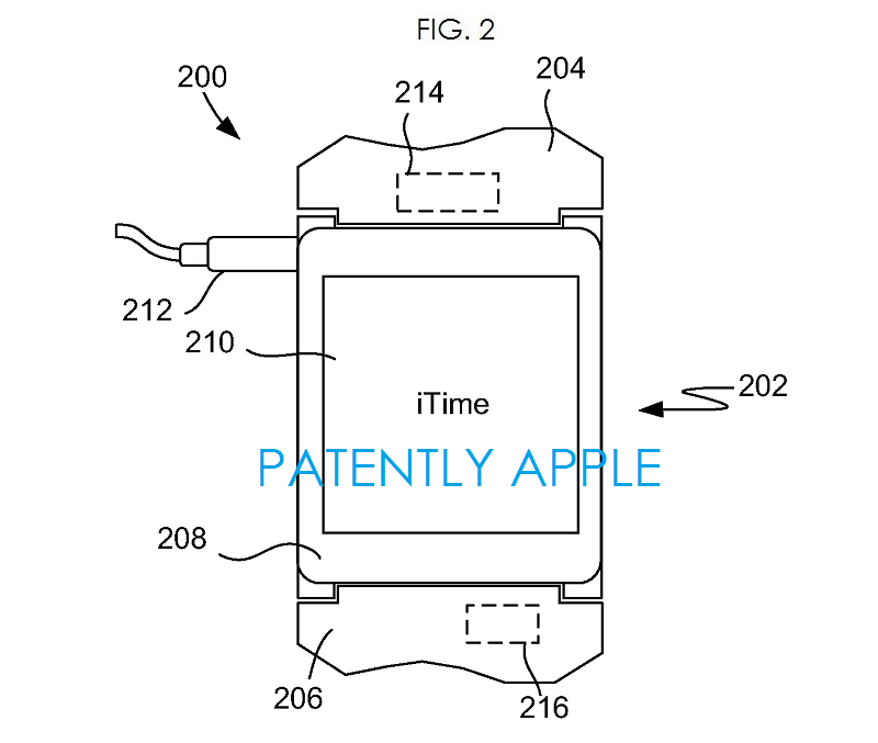 3AF  Apple wrist watch iTime fig. 2