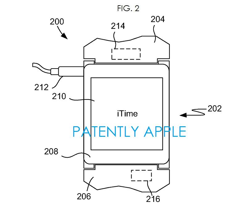 3AF  Apple wrist watch iTime fig. 2