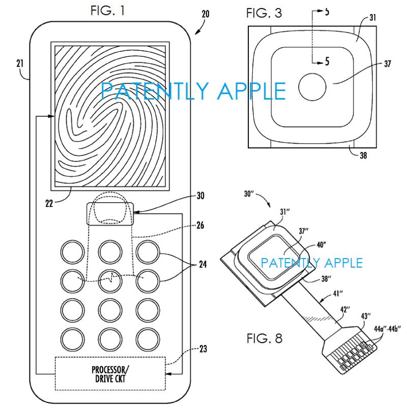 2AF - Enhanced Fingerprint Scanner Sensing - Ecapsulating layer  FIG_Page_02