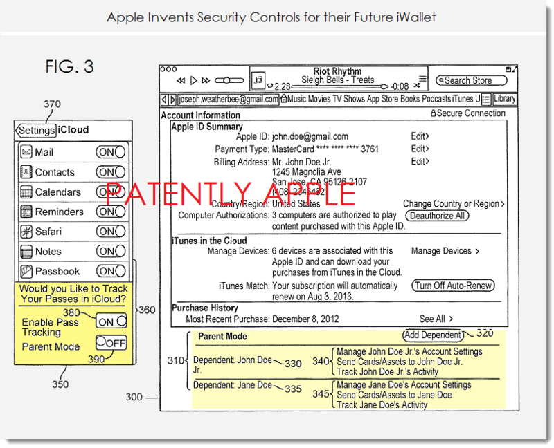 4A - APPLE IWALLET SECURITY CONTROLS FIG. 3