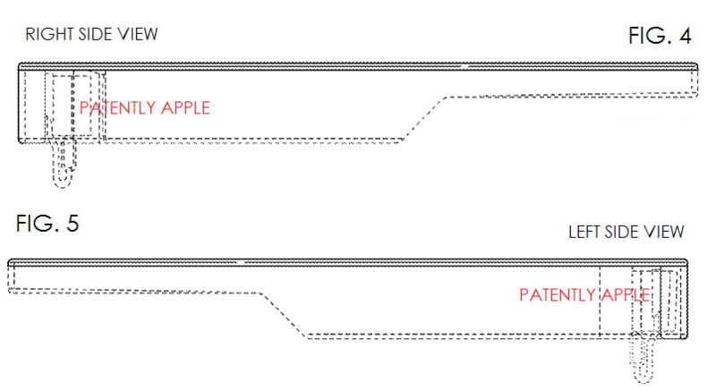 3AF. GOOGLE GLASS NEW DESIGN FIGS 4 & 5 SIDE VIEWS