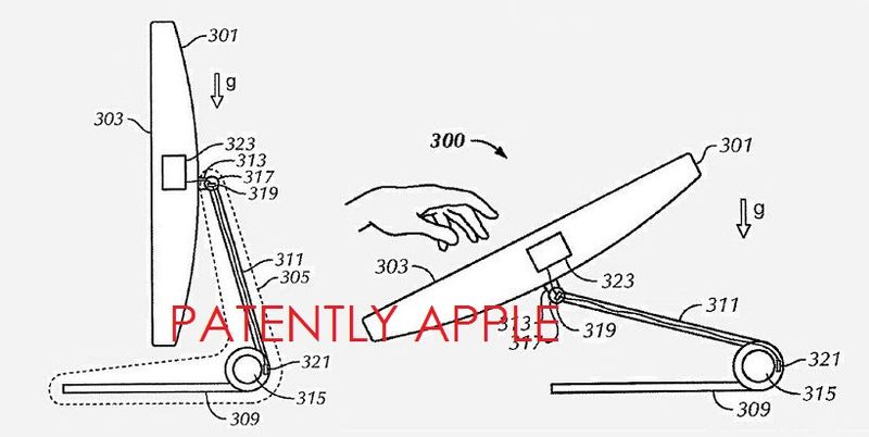 3AF - APPLE'S IMAC TOUCH PATENT 2010