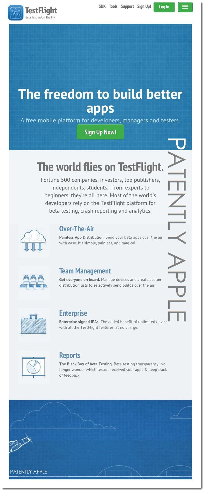 3AF2 - APPLE TESTFLIGHT TM SPECIMEN TO USPTO AUG 2014