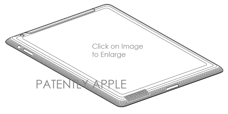 5AF - IPAD WITH WIFI BACK PANEL DESIGN PATENT- LIKELY IPAD 3RD GEN