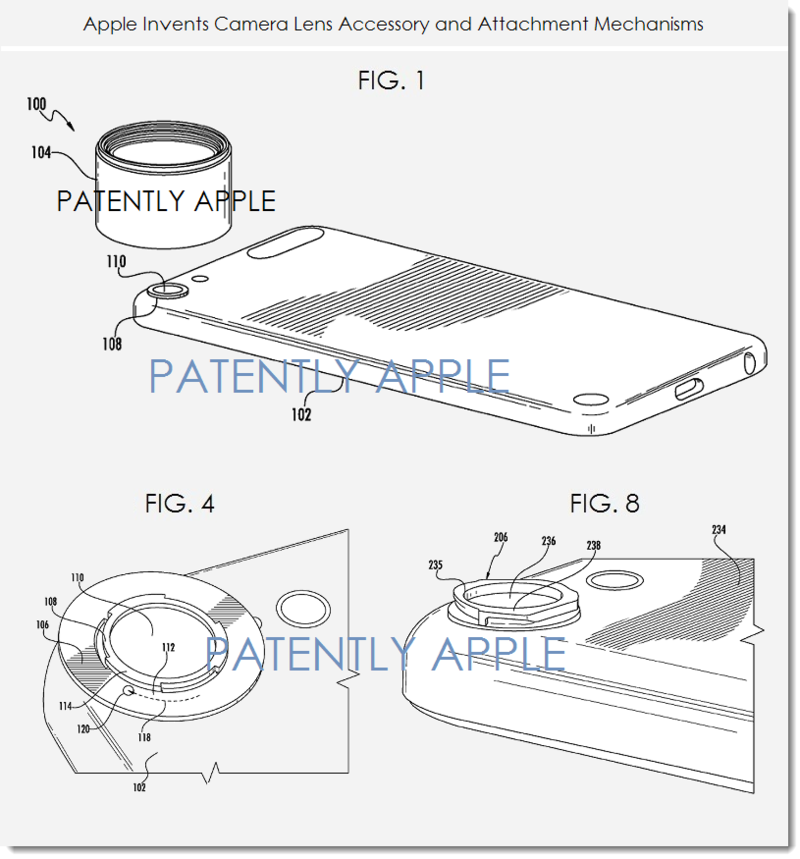 3AF - APPLE INVENTION FOR CAMERA LENSES