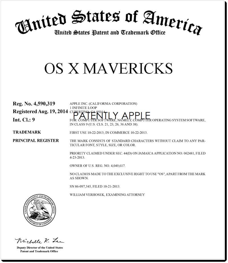 2AF OS X Mavericks RTM