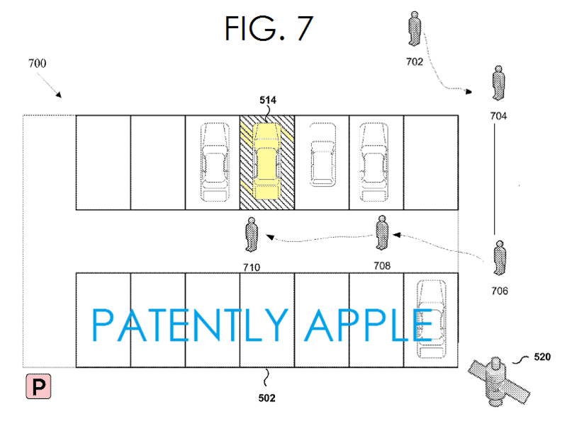 5AF - Apple indoor parking patent FIG.7