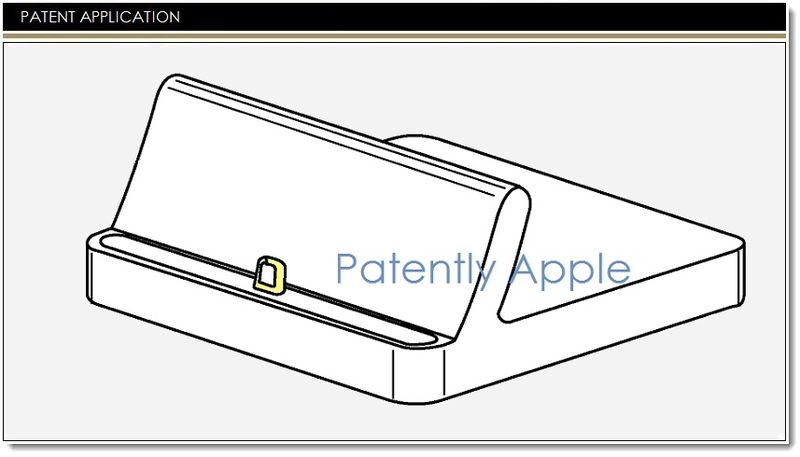 apple invents an iphone dock with lightning connector that provides a newly designed breaking