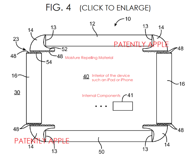 3AF  APPLE WATER PROOFING PATENT FIG. 4