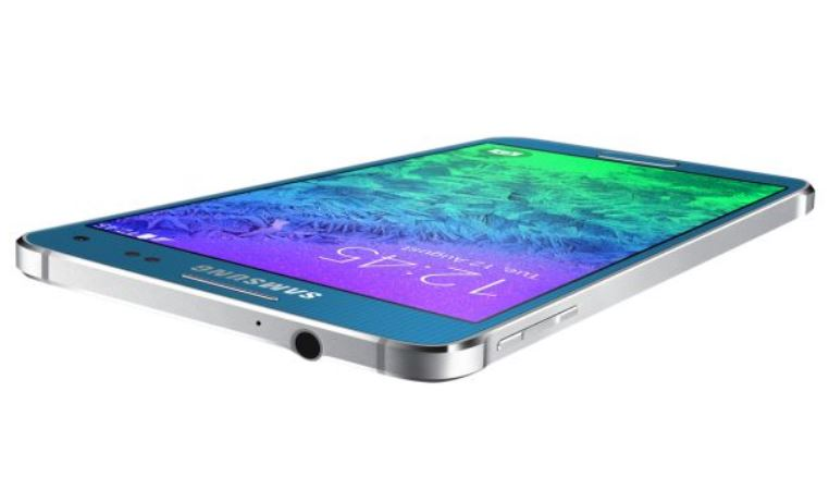 10 Extra Samsung Galaxy Alpha side view -