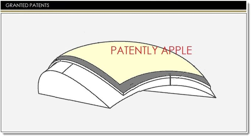 1AF - COVER - APPLE GRANTED A PATENT FOR A METHOD OF MAKING CURVED DISPLAY