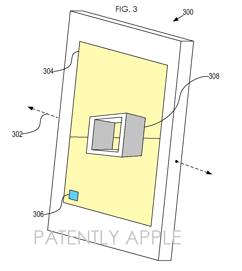 3AF - Apple 3D patent fig. 3