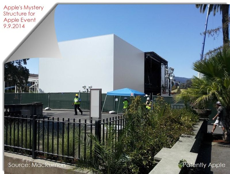3AF2A  new structure being bult may be for Apple event -