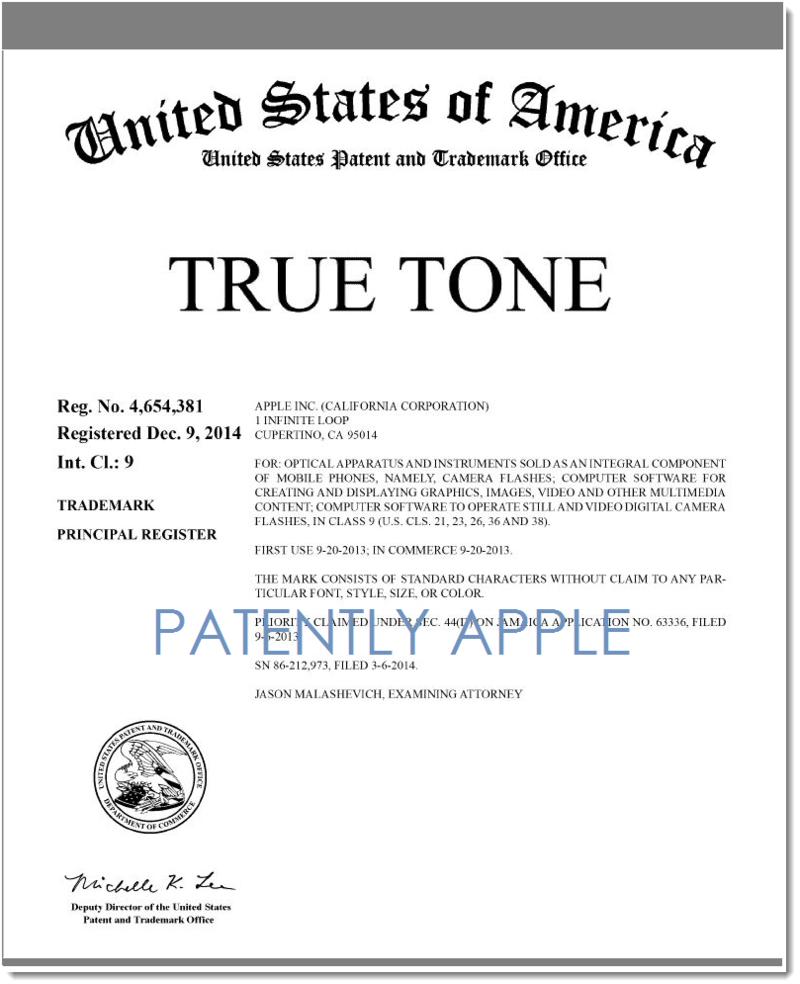 4AF 2 - TRUE TONE NOW A RTM, APPLE DEC 2014