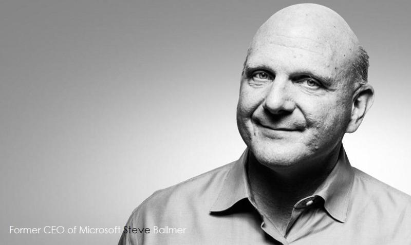 2af Steve Ballmer former Microsoft CEO