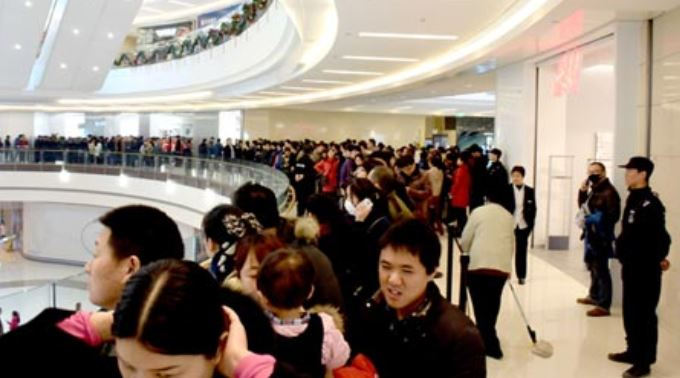 2a new Apple store openng on Jan 10 2015 in China