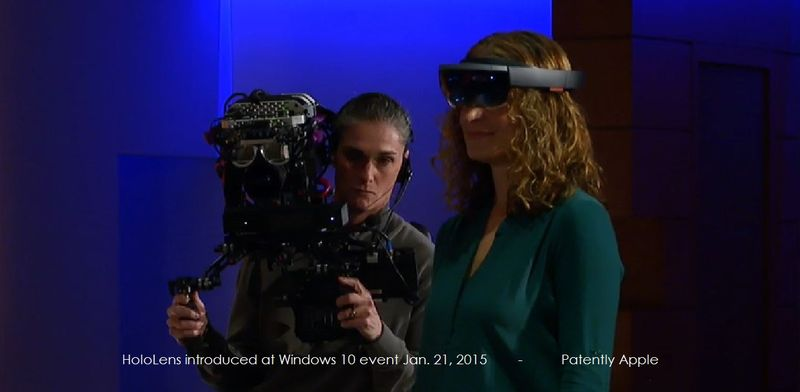 1a EXTRA ON STAGE WITH HOLOLENS