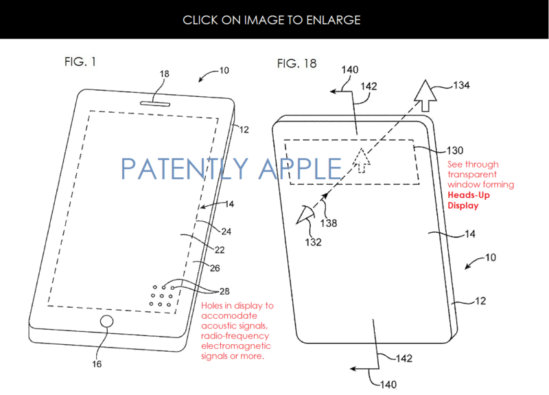 2AF - HOLES IN FLEX DISPLAYS PATENT GRANTED  TO APPLE