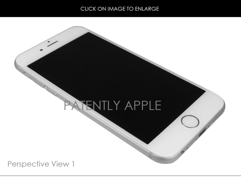 2 FINAL - PATENTLY APPLE - APPLE DESIGN WIN CHINA, IPHONE 6 DESIGN FIG. 1