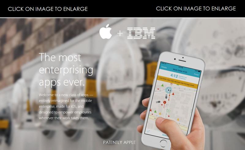 1 AF COVER - APPLE - IBM mobilefirst - 3 new apps