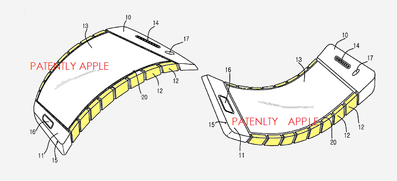 1AF PA2 - COVER GRAPHIC SAMSUNG PATENT APPLICATION - PATENTLY APPLE REPORT