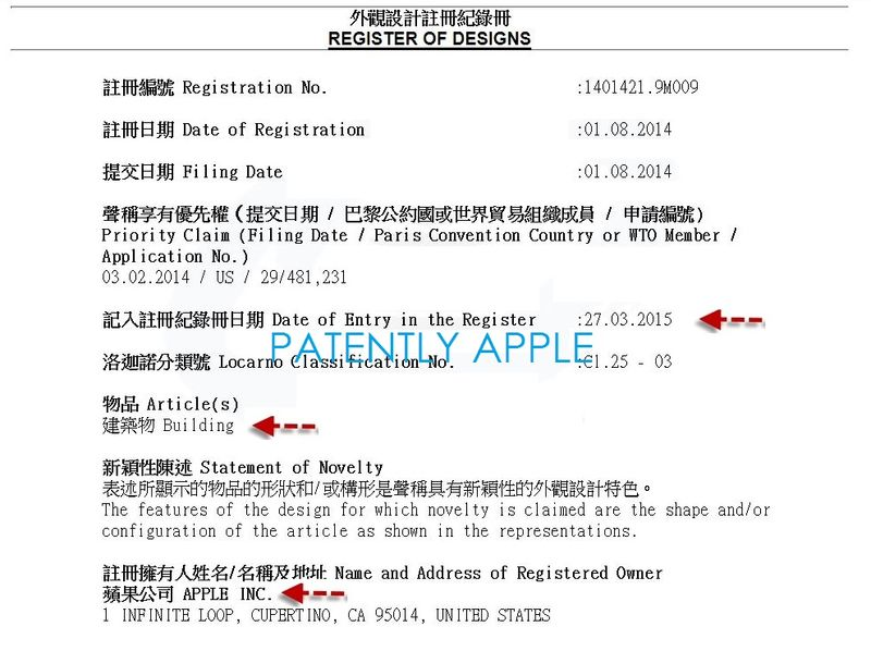 4AF REGISTERED DESIGN PATENT APPLE STORE