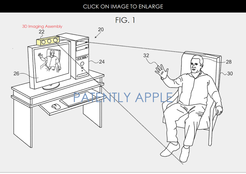 2AF DEPTH MAPPING PATENT GRANTED TO APPLE APR 28, 2015