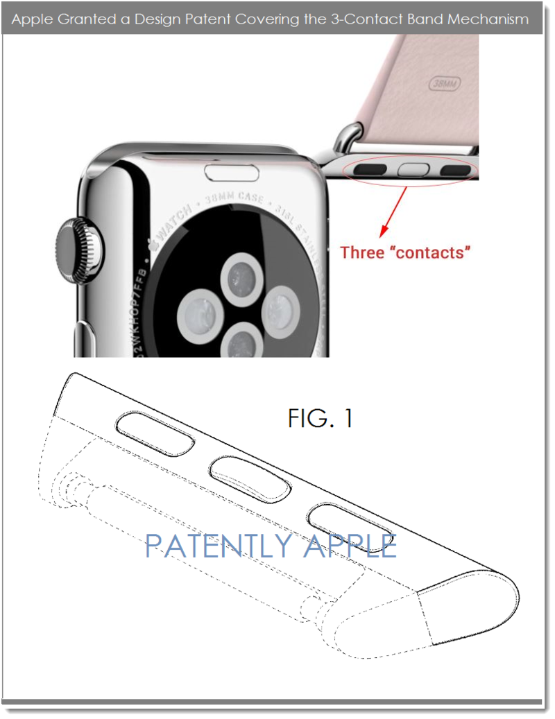 4AF 55 APPLE WATCH DESIGN PATENT