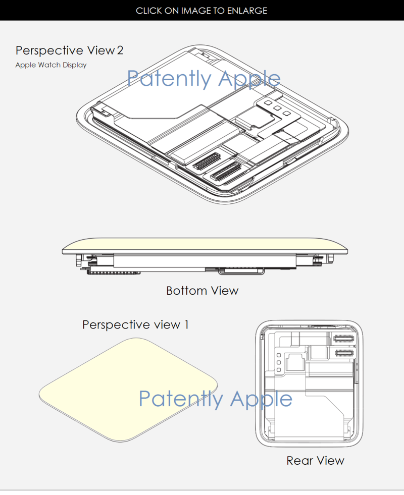 5AF 55 APPLE WATCH DISPLAY DESISGN PATENT