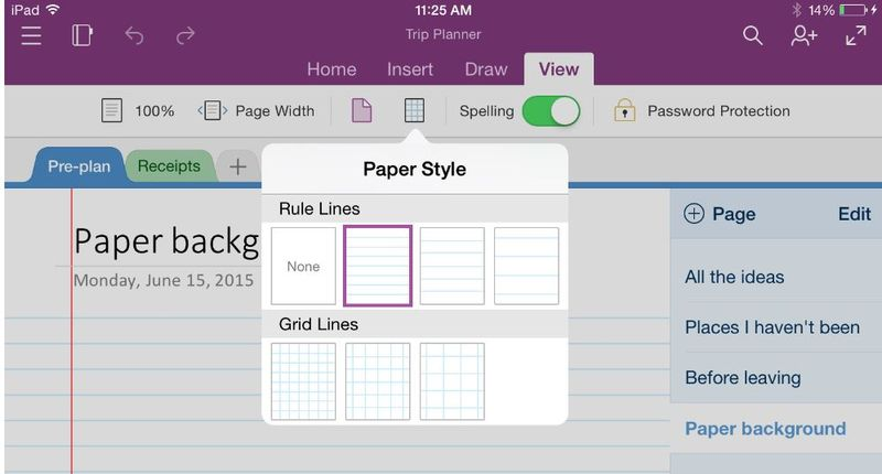 Microsoft's Faster and Touchier version of OneNote for the