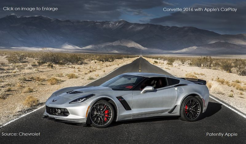 1AF NEW CORVETTE WITH CARPLAY