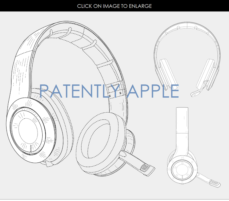 2AF 55 GAMING HEADSET DESIGN PATENT