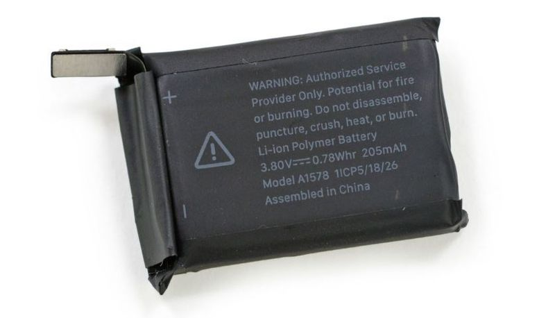 2AF - 55 APPLE WATCH BATTERY - CHINA