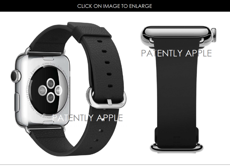 3AF APPLE WATCH DESIGN PATENT WITH MODERN BUCKLE BAND HONG KONG
