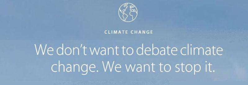 1AF 55 CLIMATE CHANGE - APPLE