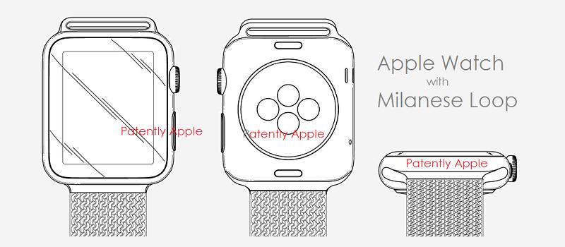 1 55 cover apple watch milanese loop