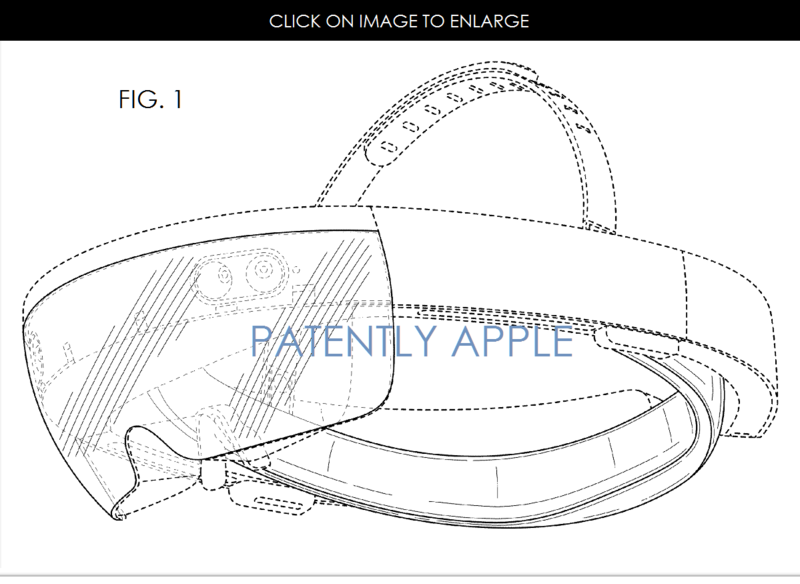 2AF Patently Apple version -  88 -  MSFT HOLOLEGNS GRANTED DESIGN PATENT